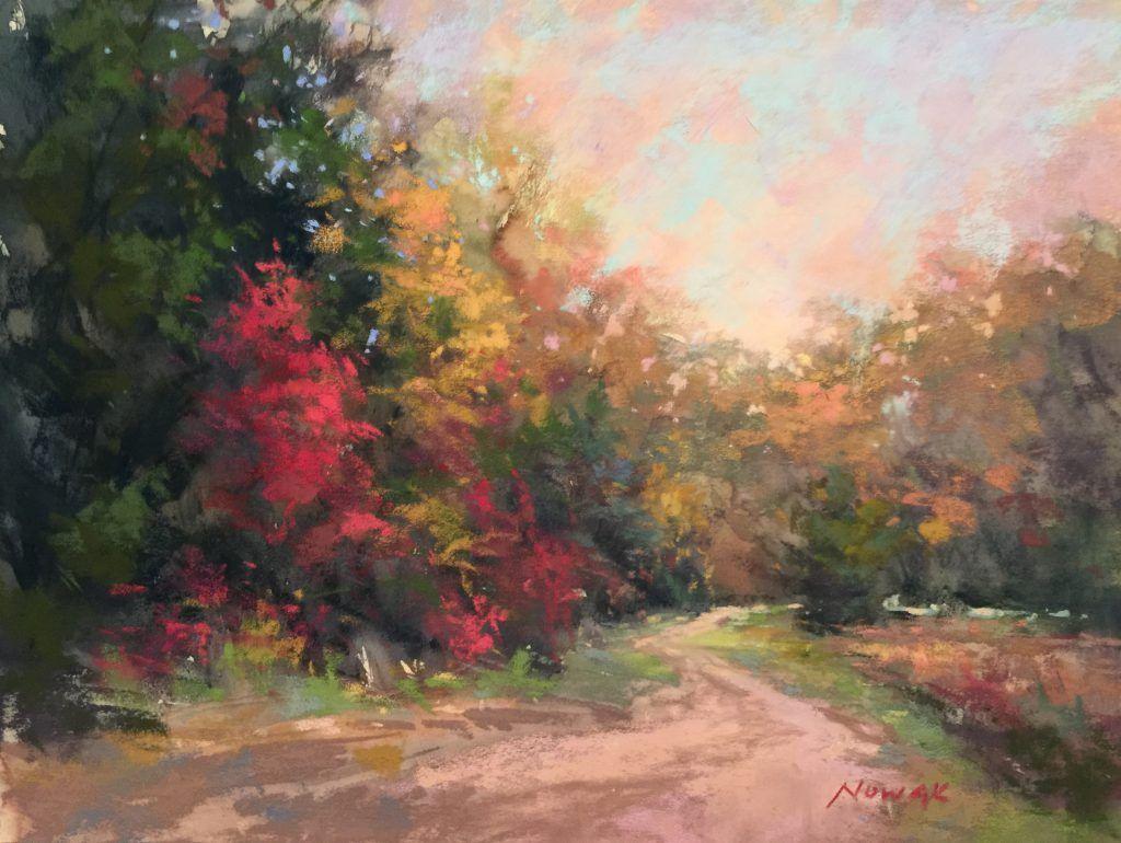 Painting Autumn Foliage #autumnfoliage