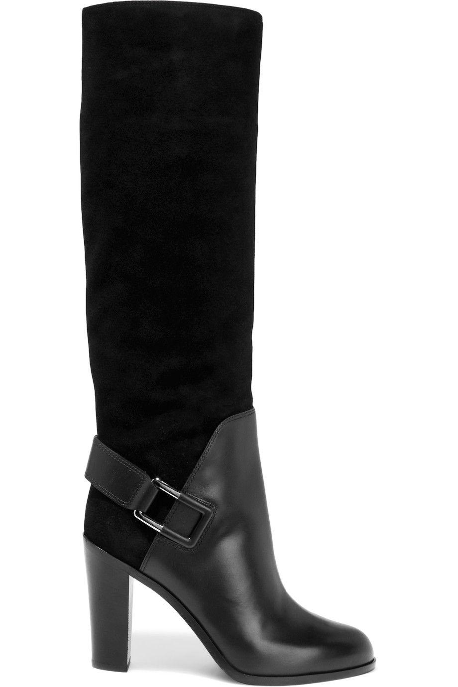 panelled boots - Black Sergio Rossi K1arL