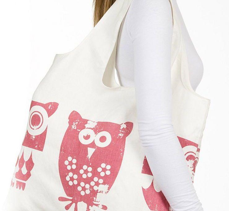 ade240c35562 Готовая выкройка сумки для продуктов. | Сумки | Bags, Tote Bag и Apron