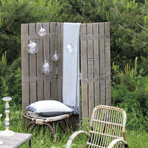 Emejing Salon De Jardin Bois Vieilli Photos - Amazing House Design ...