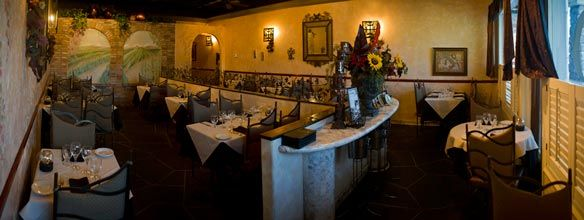Cafe Luna Intimate Italian Restaurant In Carmel Mountain Ranch Great Food Service Ambiance Inside The