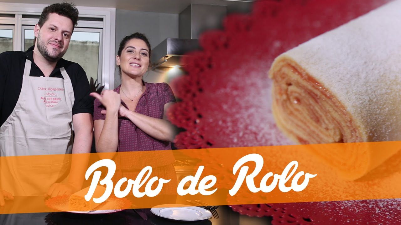 Bolo De Rolo Carol Fiorentino E Luciano Receita Bake Off