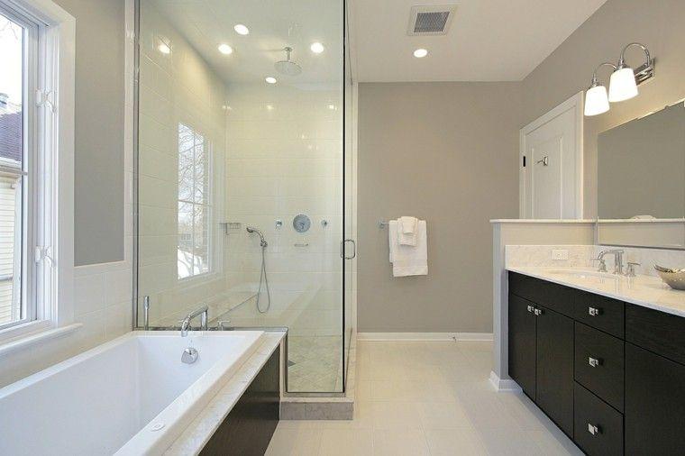 Cuartos de baño con ducha 25 ideas que impresionan
