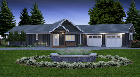 The Athabasca Cottage Prefabricated Home Plans Winton