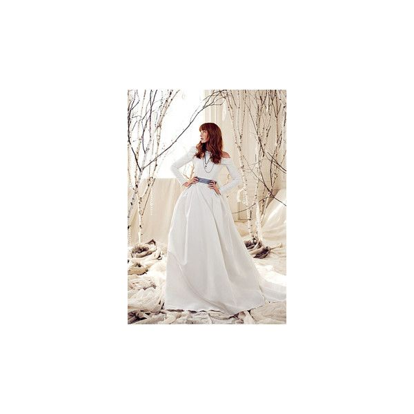 Modern Winter Wedding Dresses Liked On Polyvore