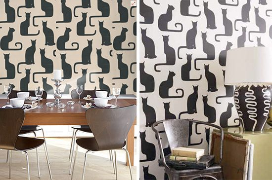 Omega Cats Mod Cat Wallpaper from Sanderson - house -