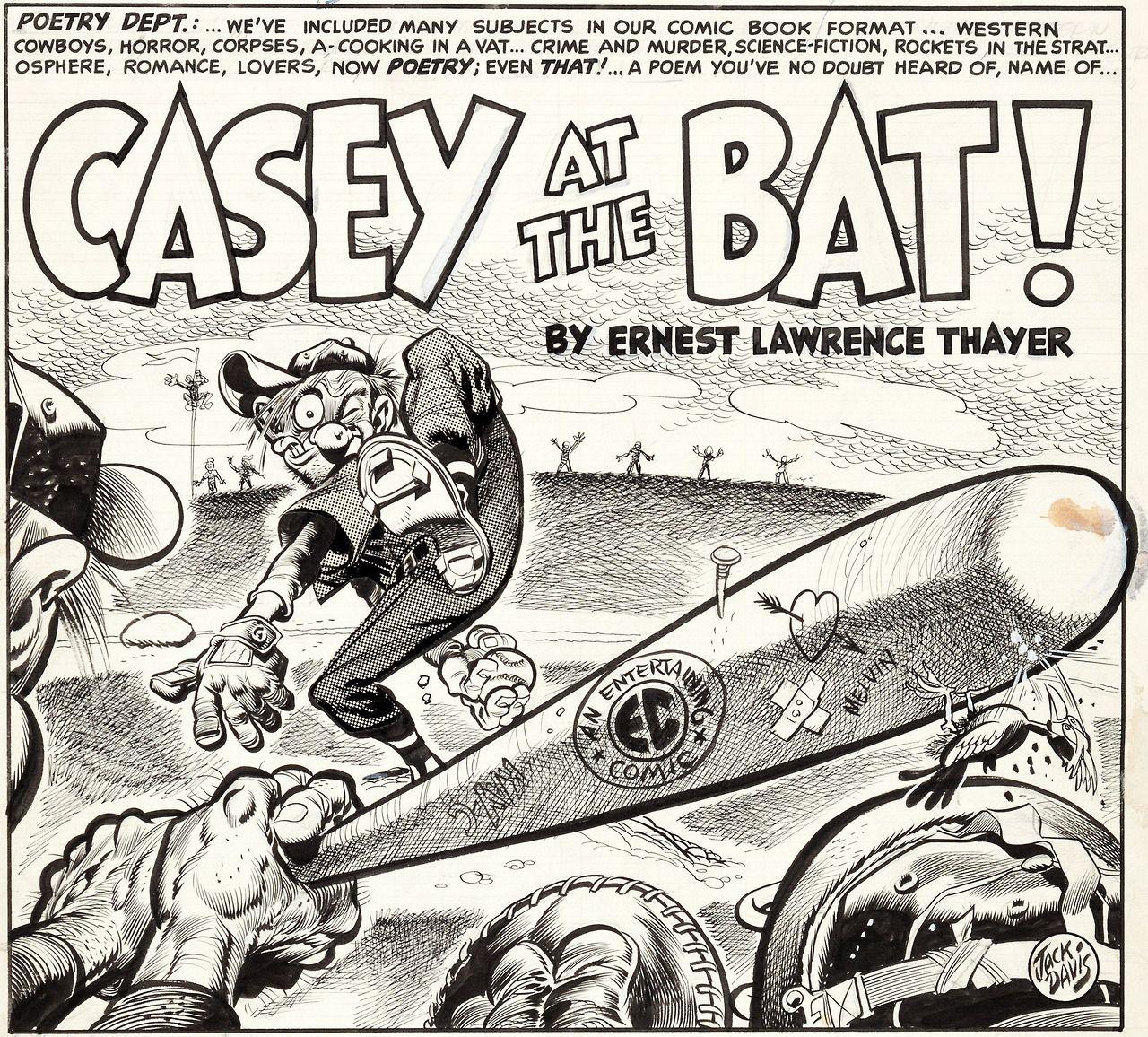 Casey At Bat By Jack Davis