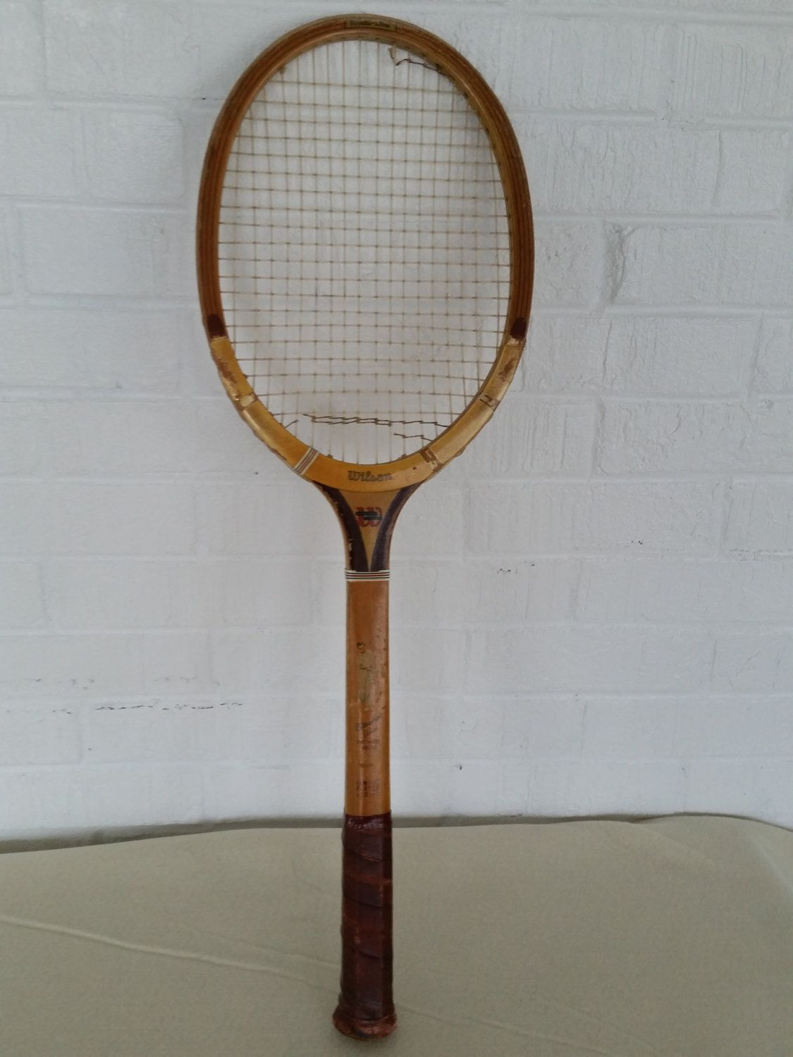 Vintage Tennis Racket Wood Tennis Racquet Wilson Tennis Racket