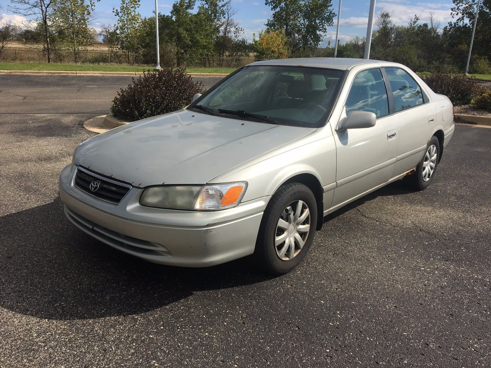 Cool Great 2001 Toyota Camry Ce No Reserve Engine Problems Fixer Upper As Is 2018