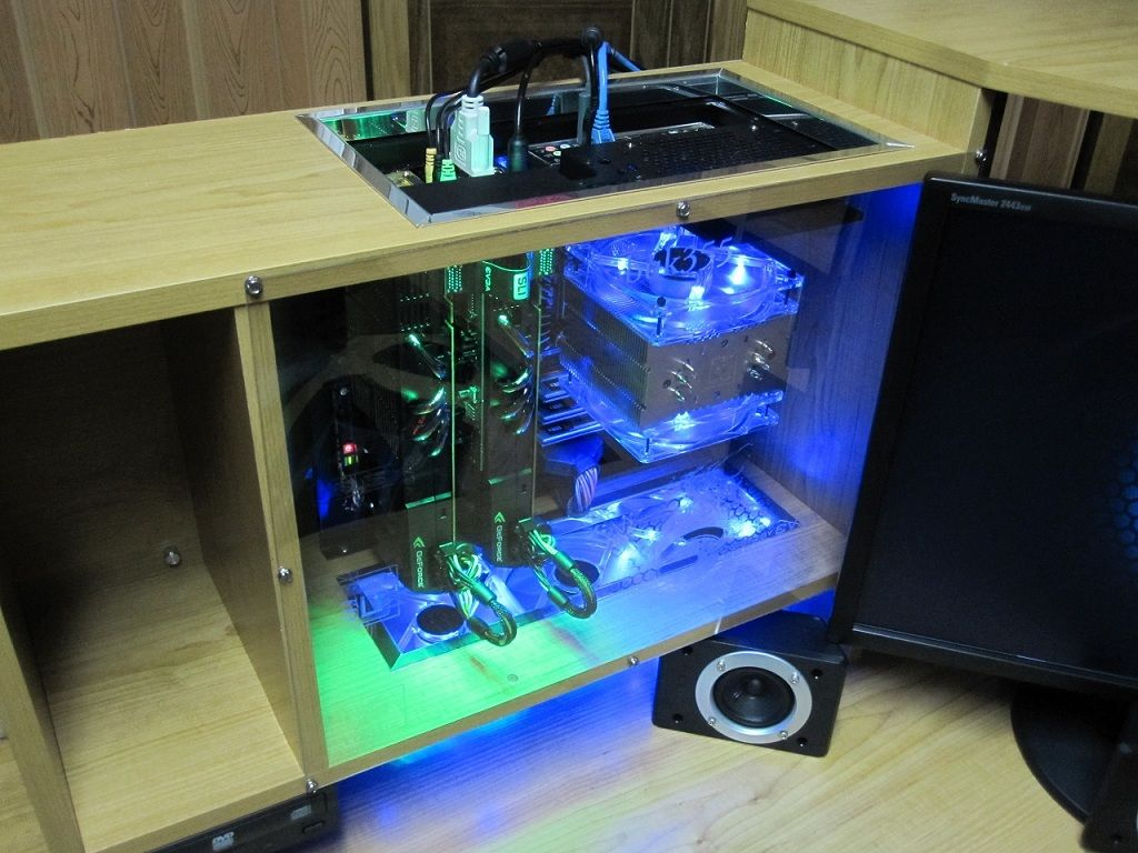 Computer Desk Led Plexigl Case Mod The Very Best Thing About Cur Is So That You Can Work More Eff
