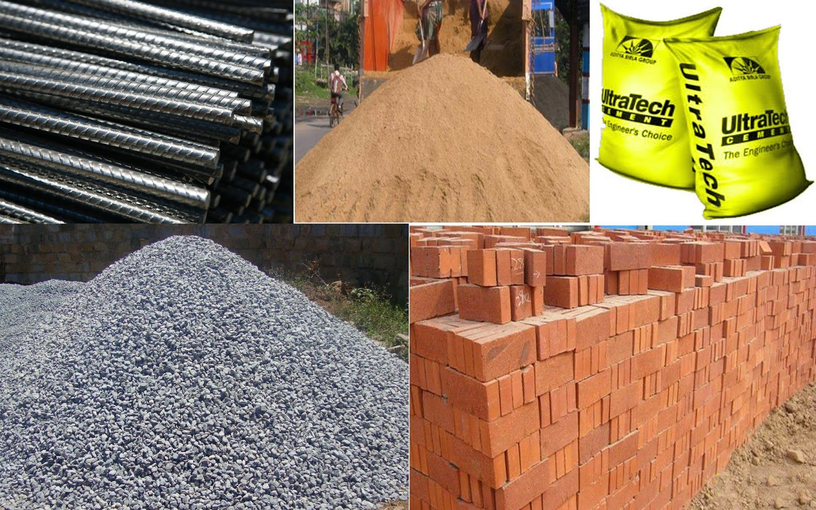 Ultratech Cement Bag Types : Building materials related keywords
