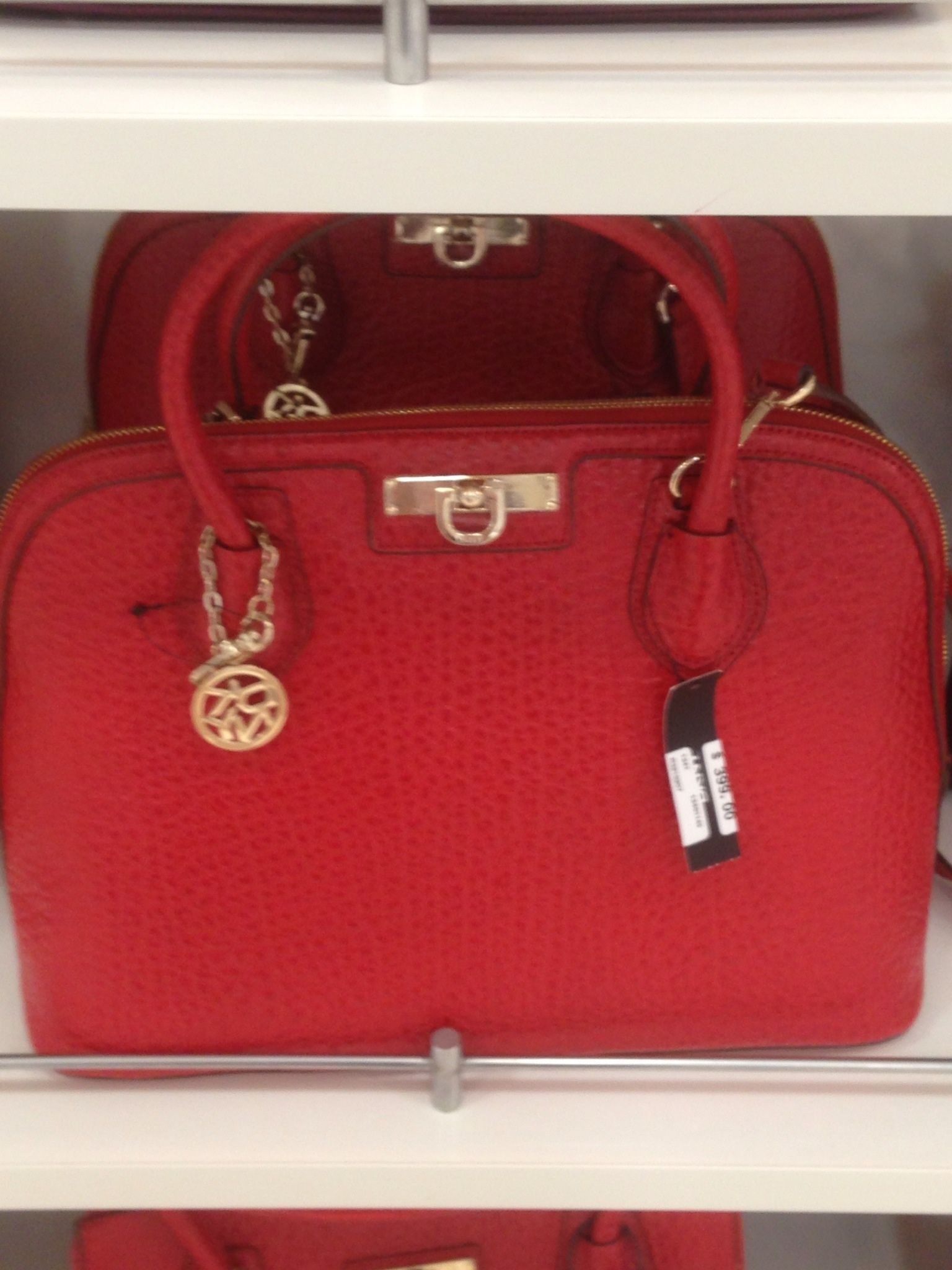 Linda, DKNY red bag, $399.00 | Pic Your Prize | Pinterest ...