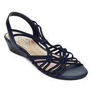 9b4fbfcd78dd St. John s Bay® Rhianna Strappy Sandals