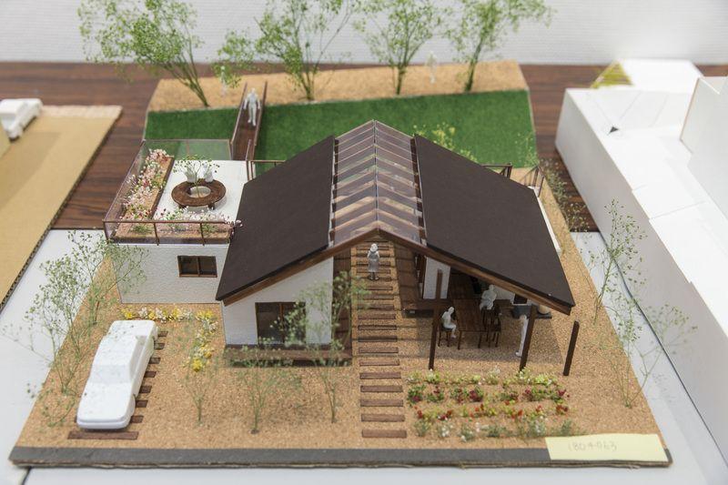 受賞作品 木の家設計グランプリ 建築モデル 住宅模型 建築模型