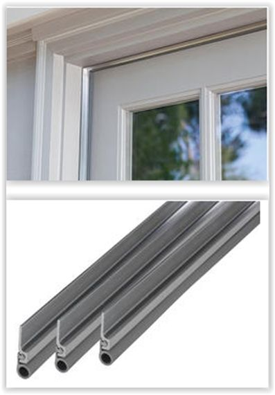 Cinch™ Self Adhesive Aluminum With Vinyl Door Seal Kit ... Easily Seal Gaps  Around The Top U0026 Sides Of Your Door With This Cinch™ Door Seal Kit. Thiu2026