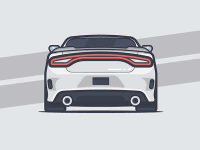 Dodge Charger Dodge Charger Car Illustration Car Icons