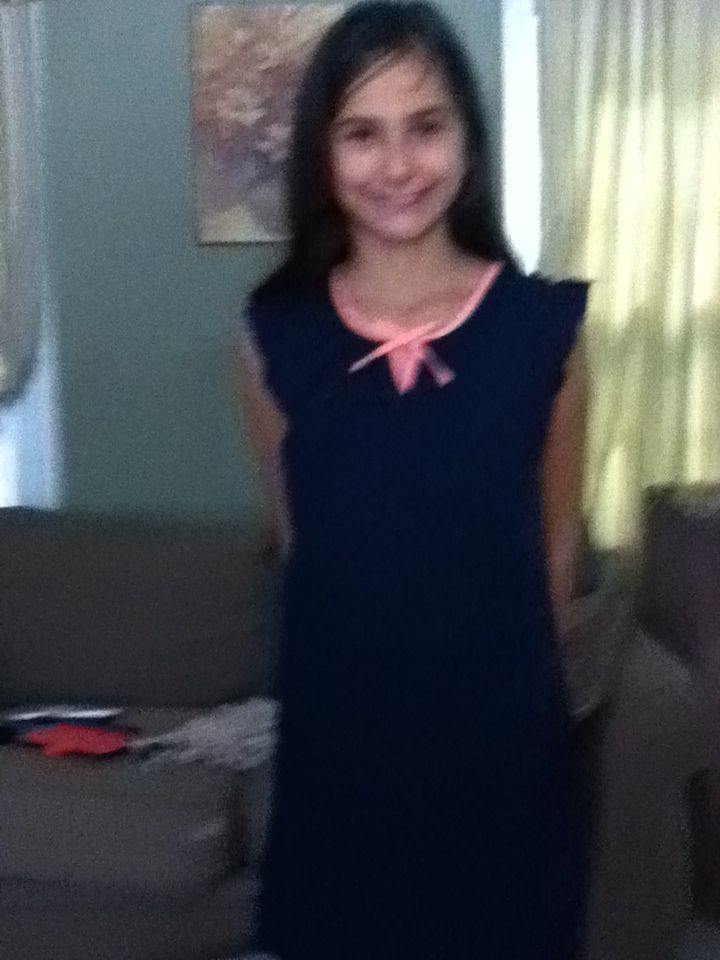 My dress I got it at Gap