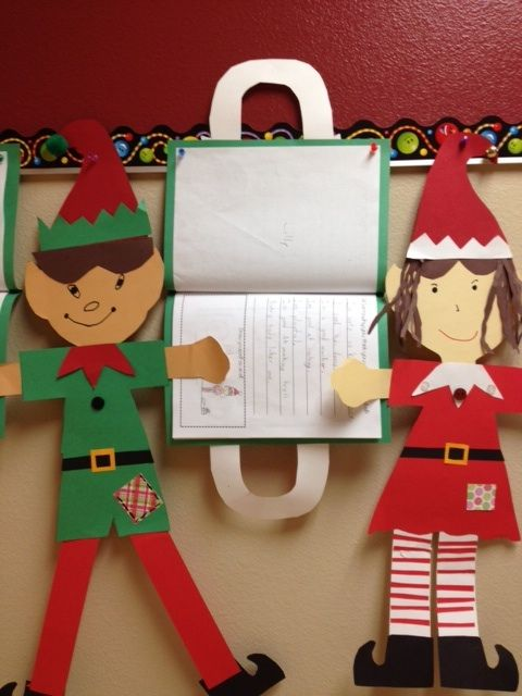 Superior Christmas Craft Ideas For 2nd Graders Part - 9: Buzzing About Second Grade: Elves Of Elf Elementary