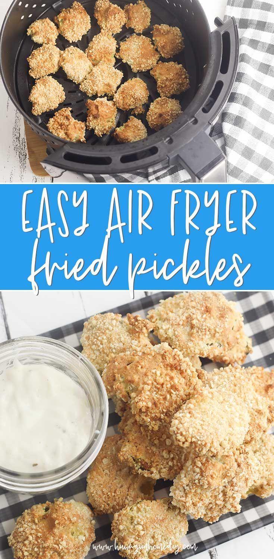 Easy Gluten Free Fried Pickles in the Air Fryer in 2020
