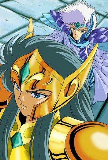 Maestro Camus De Acuario Y Crystal Saint Saint Seiya Seiya Caballeros Del Zodiaco Caballeros Del Zodiaco Sagas
