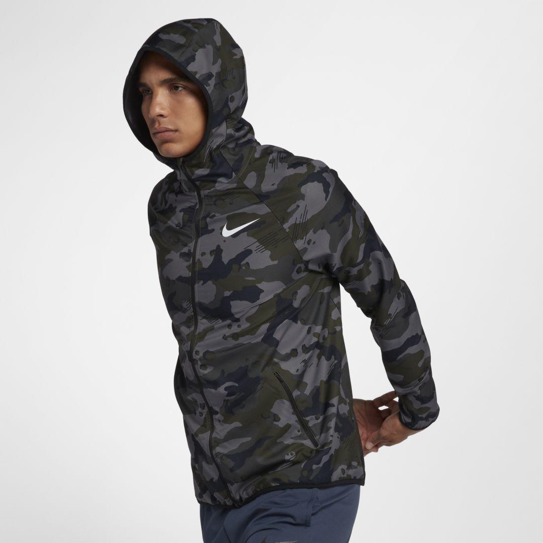 bae78de0605 Nike Dri-FIT Men s Woven Training Jacket Size 2XL (Dark Grey ...