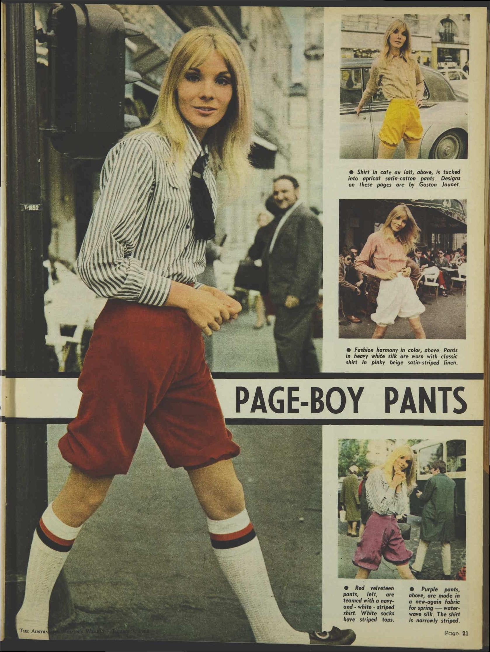 4c5a1f6a251 Issue: 3 Jan 1968 - The Australian Women's Week... | Wendy's things ...
