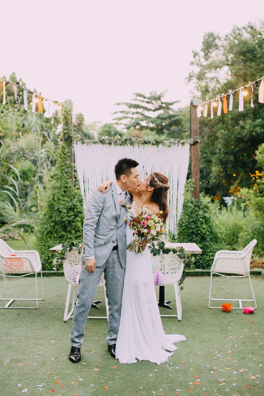 Zac and Gracia\'s Colourful Confetti Wedding at Open Farm Community ...