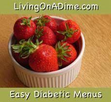 Eat Healthier With These Easy Diabetic Menus #diabeticlifestyle #diabetesreverse #diabetesmenu