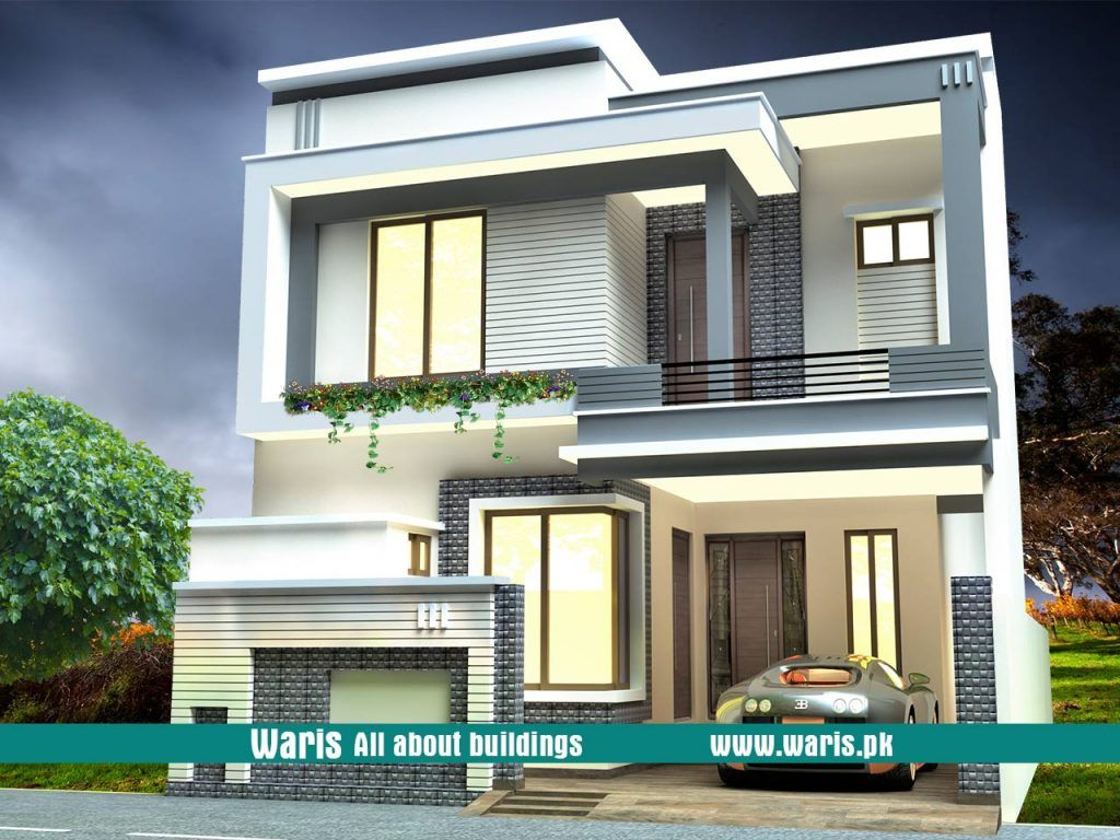 marla house front design in pakistan   view also exterior rh pinterest