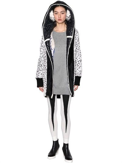 Tsumori Chisato Reversible Plush And Quilted Nylon Coat on shopstyle.com
