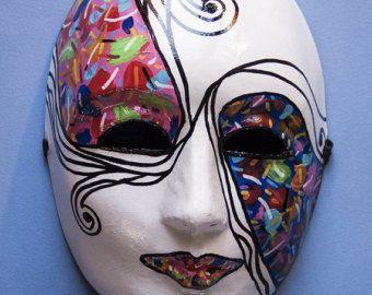 Plain White Masks To Decorate Amusing Full Face Venetian Masquerade Masks  Google Search  Ktt 2016 Inspiration Design