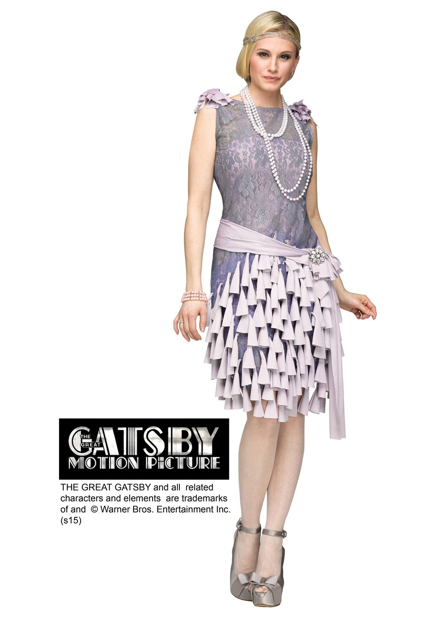 This Women\'s Great Gatsby Daisy Buchanan Bluebells Dress lets you ...