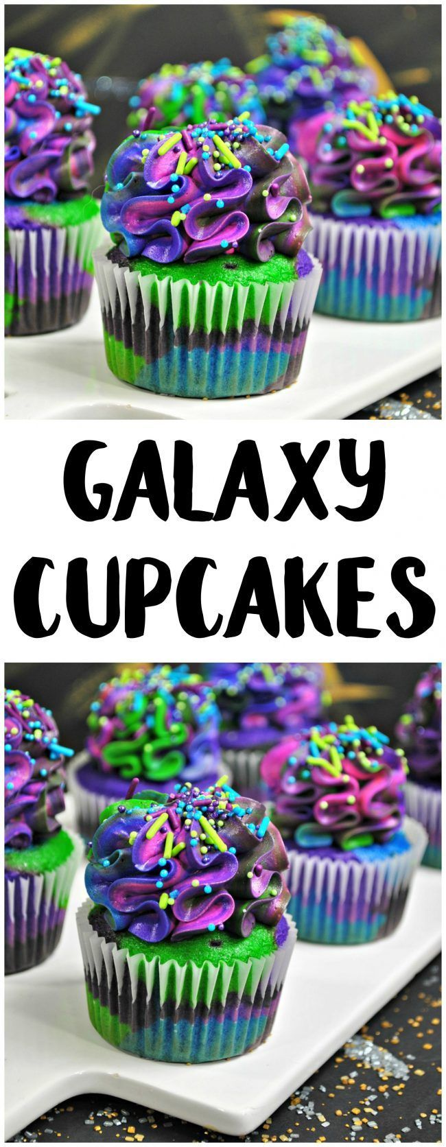 Solo: Ein Rezept für Star Wars Story Galaxy Cupcakes!   - other Sweet's -