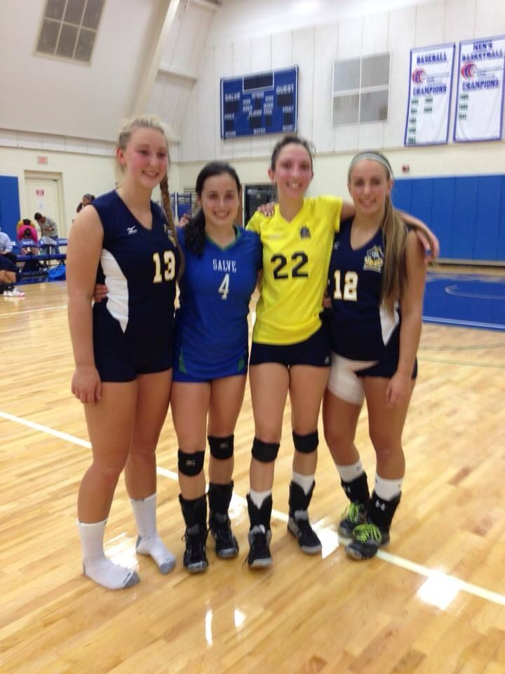 1 Get A Picture With A Team From A Different State Than You Rhode Island And Massachusetts By Brandi Britton Usa Volleyball
