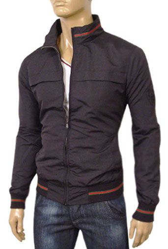 Mens Designer Clothes | GUCCI Mens Zip Up Spring Jacket #71 ...