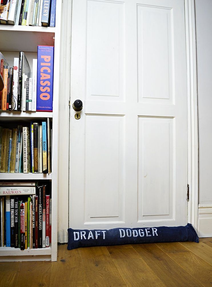 Turn Your Old Jeans into a Door DraftStopper Old jeans