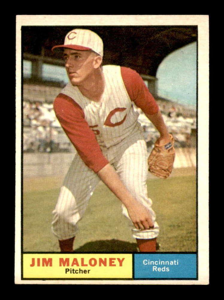 1961 Topps 436 Jim Maloney SP RC EXMT X1404254