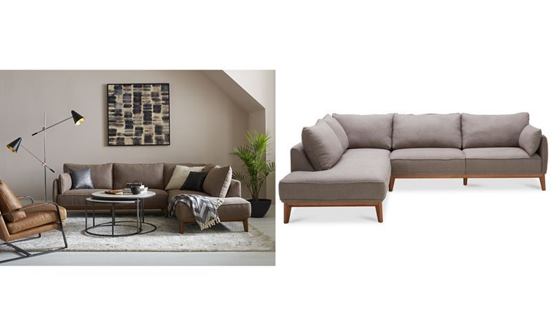 Jollene 2 Pc Sectional Created For Macy S Sofas Furniture