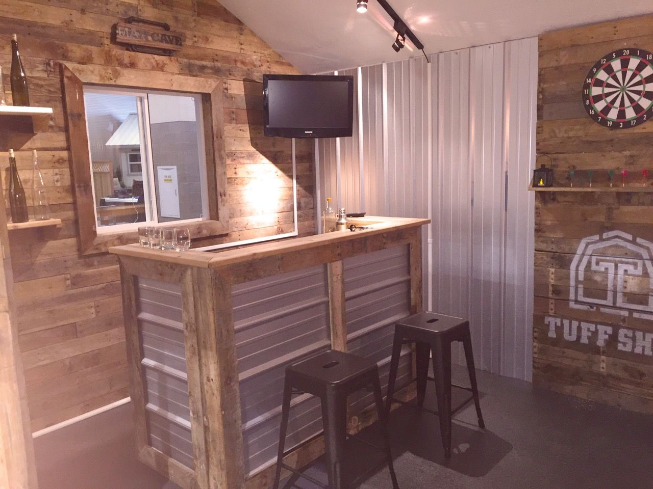 Design A Man Cave Worthy Of A Grunt Tuff Shed Man Cave Home