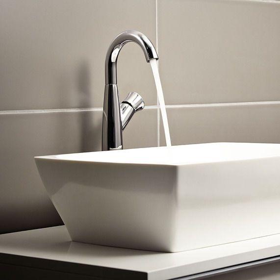 "/""Fiesta/"" Tall Single Lever Basin Mono Mixer Designer Bathroom Taps"