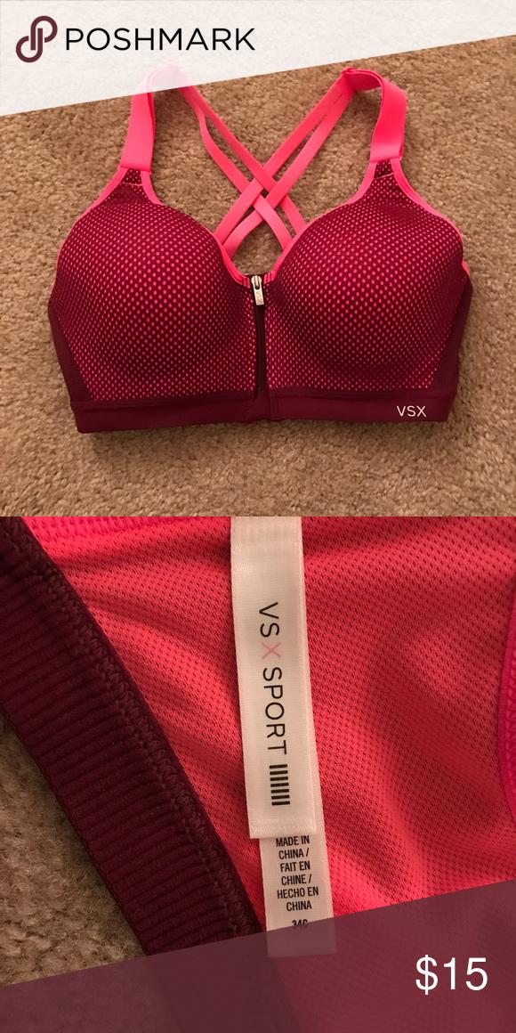 ebcd33382b Delivery · Victoria s Secret Incredible Front Closure 34C Victoria s Secret sports  bra.