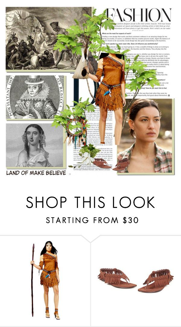 """11. Pocahontas - Historical Dreamcast Challenge"" by fashionqueen76 ❤ liked on Polyvore featuring moda e JuliaJones"