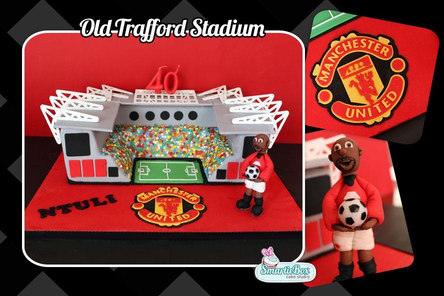 11+ Manchester United Stadium Cake
