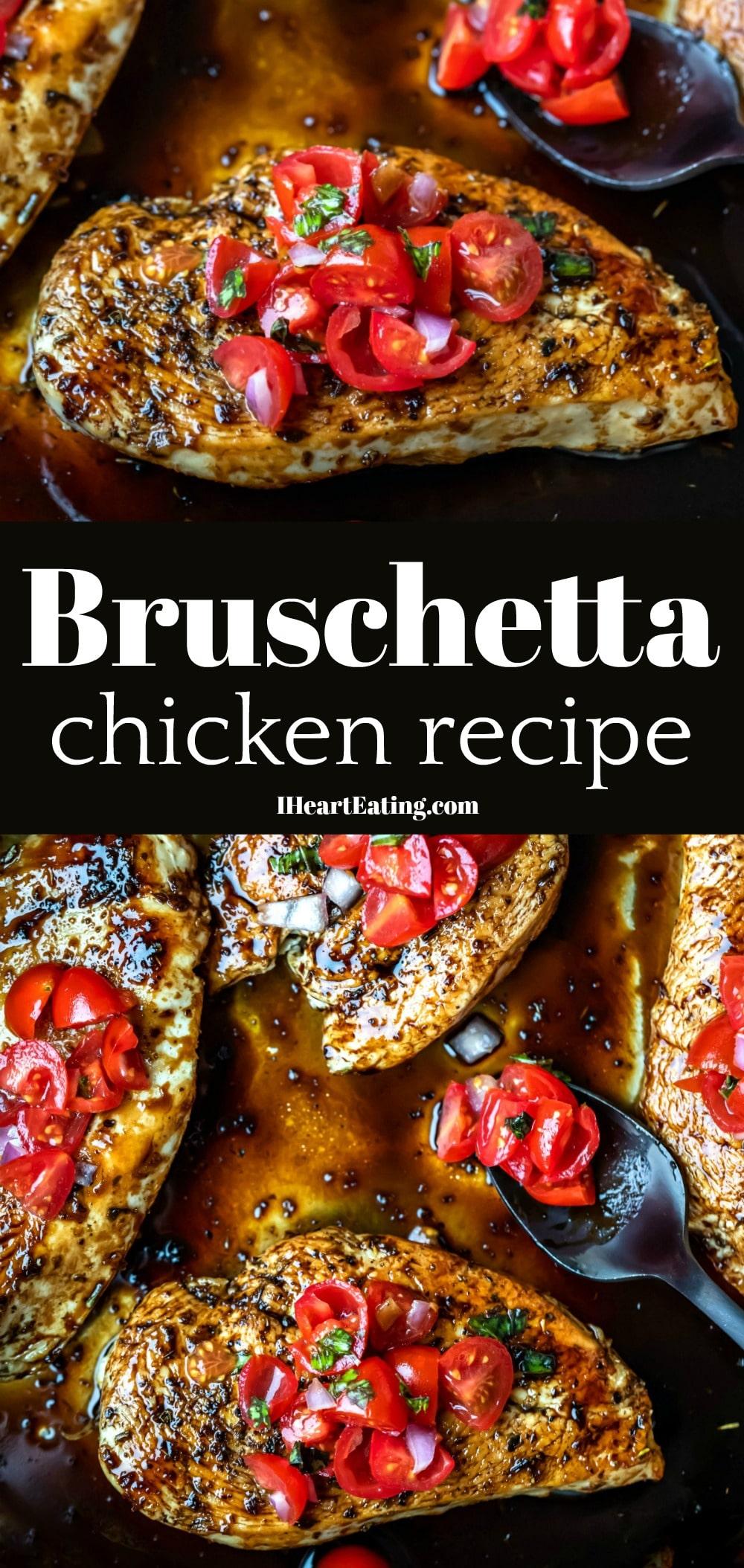Bruschetta Chicken Recipe Bruschetta chicken, Easy