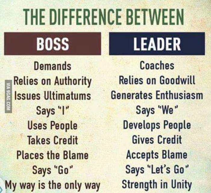 Boss vs. Leaders - Funny