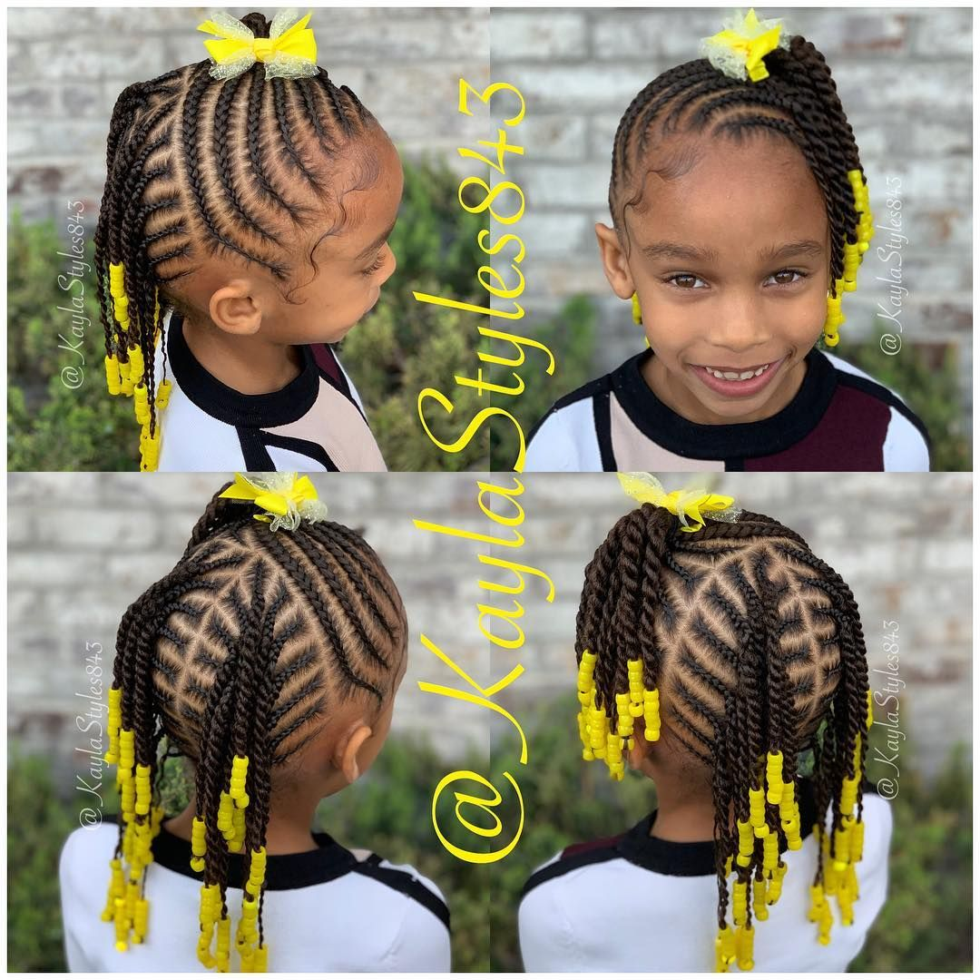 Image May Contain 1 Person Text Braids For Kids