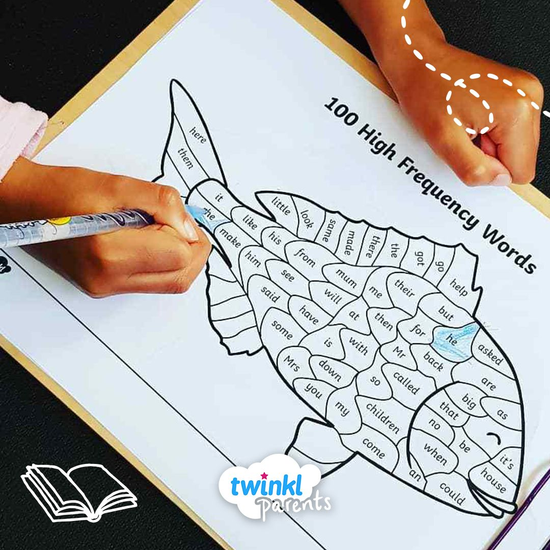 Children Will Enjoy Colouring In This Fish By Identifying