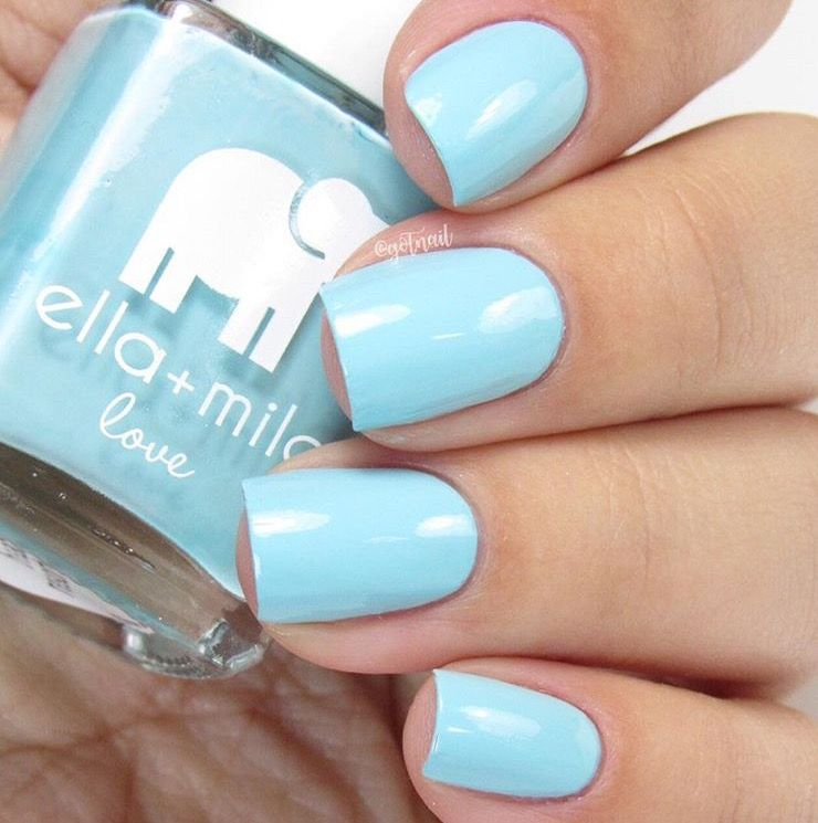 Beach Resort Blue Ella + Mila Nail Polish | Swatch, Nail polish ...