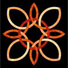 Eternity Knot Quilt Pattern Free | Free PDF pattern to make this ... : celtic knot quilt pattern - Adamdwight.com