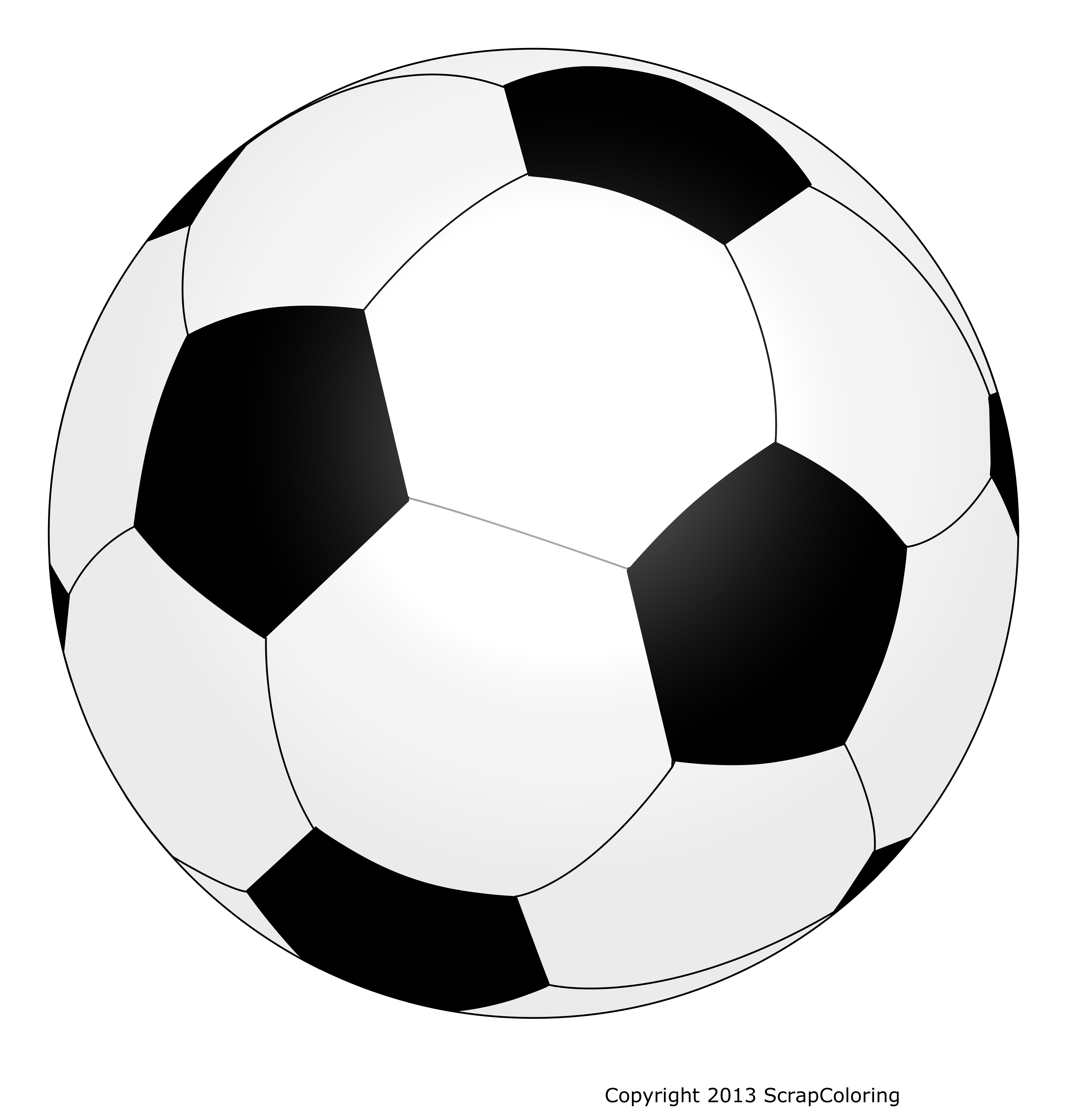 Dessin De Ballon De Foot